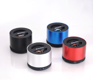 Customized Christmas Promotion Gift Music Mini Wireless Bluetooth Speaker (BS-09) pictures & photos