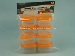 Square Mini PP Container, Square Container