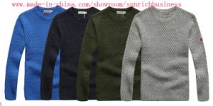 Men′s Knitted Pullover Sweater (MY032) pictures & photos