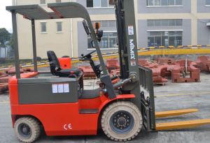Mima 1500kg 4-Wheel New Battery Operated Electric Forklift pictures & photos