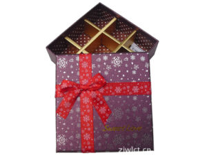 Wholesale with Ribbon Packaging Matte Paper Gift Boxes pictures & photos