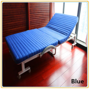 Adjustable Guest Bed with Mattress 190*120cm/Rollaway Folding Bed pictures & photos