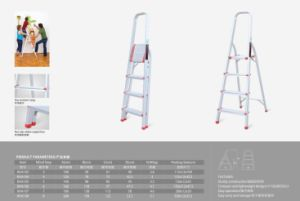 Household Aluminum Ladder pictures & photos