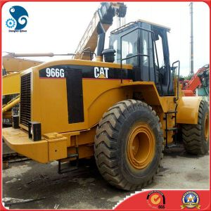 Good-Gearbox-Engine Used Caterpillar 966g Loader with Front-Bucket-3m3 pictures & photos
