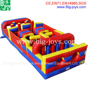 Best Selling Children′s Park Inflatable Obstacles/Inflatable Castle/Bouncer/Combo Foe Sale (DJOB009) pictures & photos