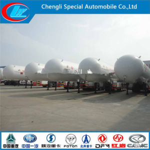 Asme Tri-Axle 2015 LPG Tanker Semi Trailer for Sale Chinese Manufacturer Cheap Semi Trailers 58000L Used LPG Trailer pictures & photos