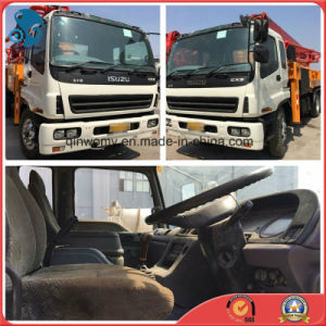 Rhd-8*4-Drive 42m Repaint 2007 Used Concrete-Delivery Sany-Pump Isuzu-Chassis Pump Truck pictures & photos