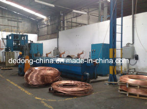 Copper Wire Large Drawing Machine with Annealer