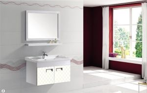 Aluminum Bathroom Vanity with Mirror (T-9703) pictures & photos
