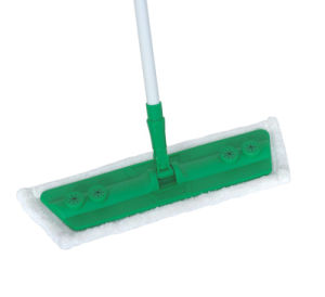 Telescopic Handle Chenille Microfiber Feather Flat Mop (1022) pictures & photos