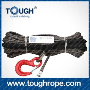 Tr-02 Wire Rope Winch Dyneema Synthetic 4X4 Winch Rope with Hook Thimble Sleeve Packed as Full Set pictures & photos