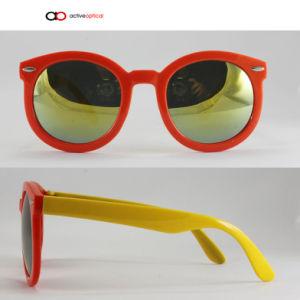2015 Top Selling Plastic Material Kid Sunglasses (k1147)