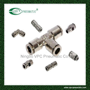 Pneumatic Connector Pneumatic Fitting One Touch in Fitting pictures & photos