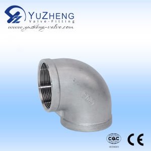 Stainless Steel Fitting Thread Bsp/NPT Cross pictures & photos