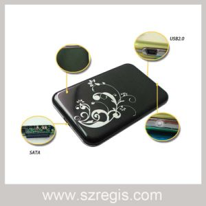 USB2.0 Serial Ultrathin Aluminum 2.5-Inch SATA HDD Enclosure Support 1t pictures & photos