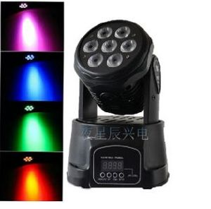 7PCS Mini LED Moving Head Soft Light Stage Light