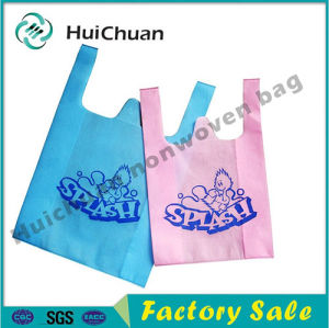 T-Shirt Bag Recyclable Non Woven Bag pictures & photos