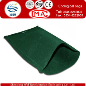 Geotextile Bag for Ecological Envriment 45cm*80cm USD0.55/Piece for Retaining Wall Engineering