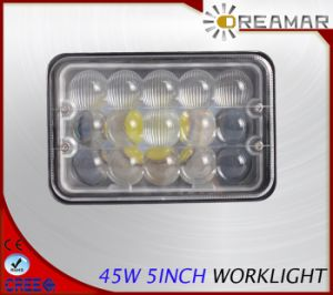 45W 2700lm 5inch Pi 68 LED Work Light with High/Low Beam pictures & photos