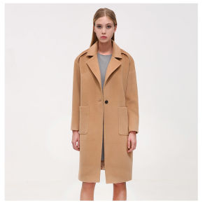 Fashion Long Pattern Women Winter Cashmere Coat pictures & photos