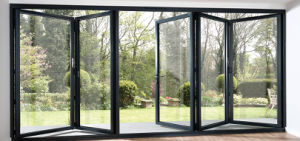 Heat Insulation Aluminium Be-Fold Door with High Quality