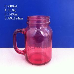 Colored Mason Glass Jar with Every Color Available pictures & photos