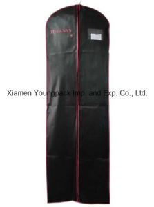 Custom Printed Black Garment Cover Bag pictures & photos