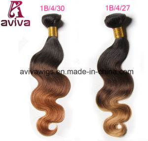 100% Virgin Hair Ombre Natural Virgin Hair Extension pictures & photos