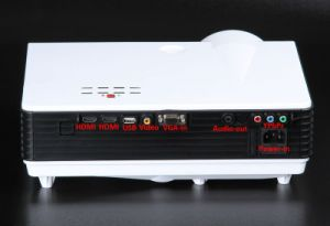 Qualified LCD Projector with 3500lumens pictures & photos