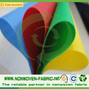 Eco-Friendly 100% Polypropylene Nonwoven Fabric in Roll pictures & photos