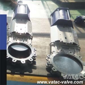 ANSI Class150# Stainless Steel Lug Knife Gate Valve Manufacturer pictures & photos