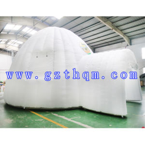 a White Oxford Inflatable Tent / Outdoor Lawn Single Inflatable Tent pictures & photos