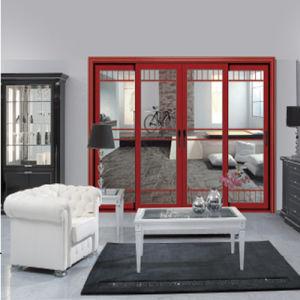 China Factory Manufacturing Optional Screen Aluminum Sliding Doors (FT-D126) pictures & photos