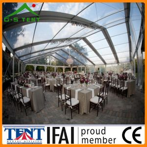 Transparent Sunshade Marquee Party Wedding Tent 10m X 5m pictures & photos