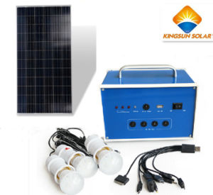 5W High Efficiency Solar Power System for Home pictures & photos