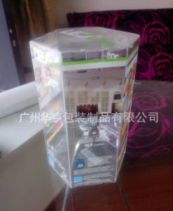 Good Quality Printed Hexagon Plastic Display Box (gift packing box) pictures & photos