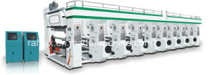 Middle Speed 6 Colour Rotogravure Printing Machine pictures & photos