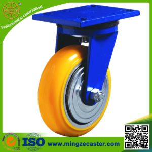 Heavy Duty Swivel PU Caster Wheels for Platform Hand Trucks pictures & photos