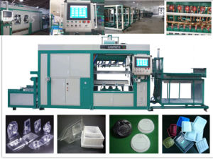 Plastic Cup Lid and Packing Tray Fully-Automatic Thermo Forming Machine