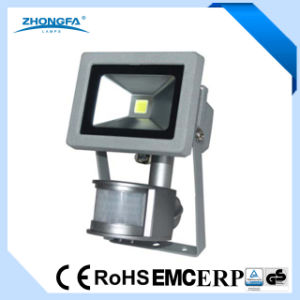 High Quality LED Floodlight with PIR Sensor pictures & photos