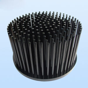 Pin Style Cold Forged Aluminum LED Heatsink pictures & photos