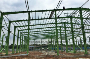 Steel Structure Warehouse Workshop with Fiber Cement Board Wall Panel pictures & photos