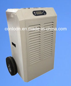 90L/D with Big Wheel and Handle at Back Industrial Dehumidifier