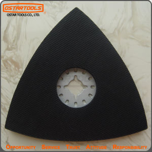 Power Tool Parts Oscillating Tool Triangular Sanding Pad pictures & photos