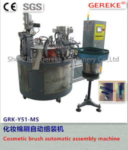 Cosmetic Equipment -Cosmietc Cotton Brush Automatic Assembly Machinery pictures & photos