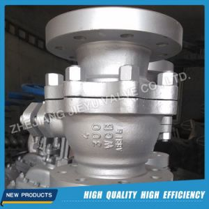 API Trunnion Ball Valve with Flange Stainless Steel pictures & photos