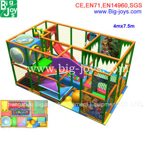 2015 Hot Selling Factory Directly Kids Indoor Playground Equipment (DJID001) pictures & photos