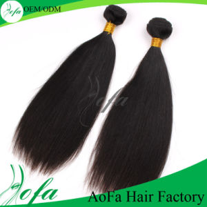 The Straight Hair Brazilian Virgin Human Hair Weft pictures & photos