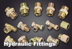 Straight, Elbow, T Type Hydraulic Fitting pictures & photos