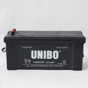 Truck Battery High Performance JIS 145g51mf 12V150ah Car Battery pictures & photos